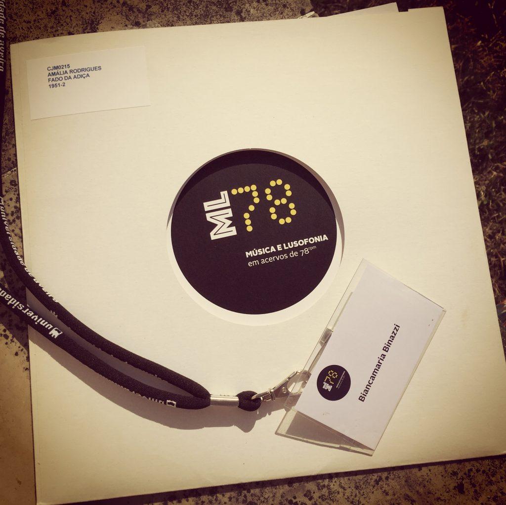 Música e Lusofonia em Acervos de 78 rpm